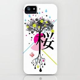 sakura ki iPhone Case
