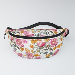 Warm Roses Fanny Pack