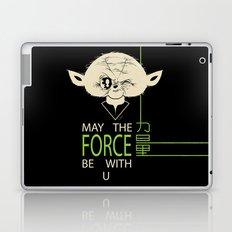 Starwars Yoda - May The Force Be With U Laptop & iPad Skin