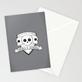 Skull's School Stationery Cards