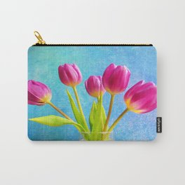 Five Pink Ladys Carry-All Pouch