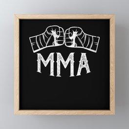 MMA Mixed Martial Arts Framed Mini Art Print