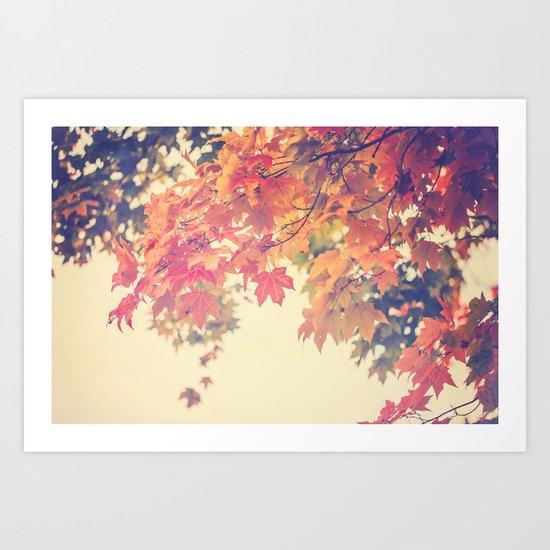 Hello Autumn  Art Print