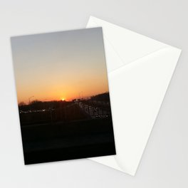 Sunset at Laval X Stationery Cards