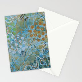 Psychedelic Sea Stationery Cards