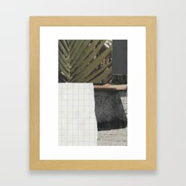 minimal chill Framed Art Print