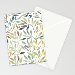 Leaves 5 Stationery Cards