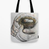 gift card Tote Bags featuring God's Greatest Gift by EloiseArt
