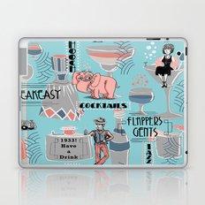 Prohibition Era, Cocktails, Anyone? Laptop & iPad Skin