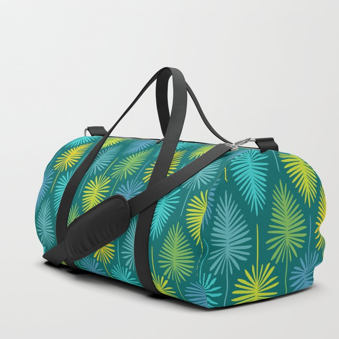 Retro Spring Nature Print II Duffle Bag