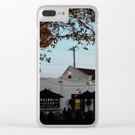 Magnolia-Christmas Bakery Clear iPhone Case