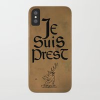 outlander iPhone & iPod Cases featuring Je Suis Prest by Skart87