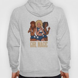Three Women Girl Magic Brown Models Hoody