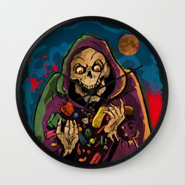 All The Candy! Wall Clock