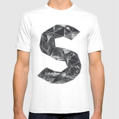 cosmico fantastico White MEDIUM Mens Fitted Tee
