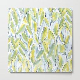 Growth Green Metal Print