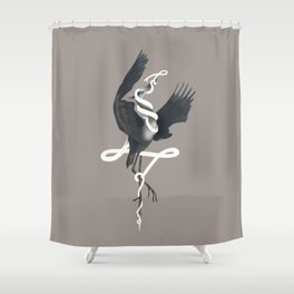 Anxiety (White Variant) Shower Curtain