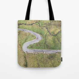 Hairpin bends on Glengesh Pass, Donegal Tote Bag
