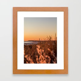 Cape May Lighthouse Framed Art Print