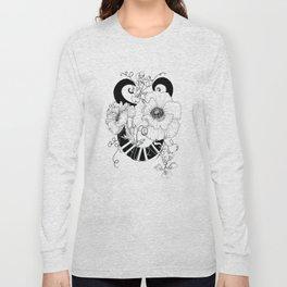 Taurus///Poppy & Sweet Pea Long Sleeve T-shirt