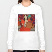 mercedes Long Sleeve T-shirts featuring Folklore by Design4u Studio