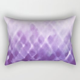 Diamond Fade in Violet Rectangular Pillow