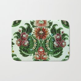 Bouquet Floral Wallpaper Bath Mat