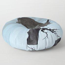 Old World Vulture Floor Pillow