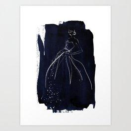 BLUE no. I Art Print