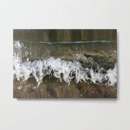 Little Waves Metal Print