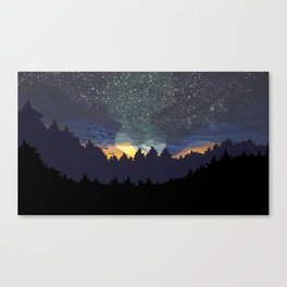Dark-Sky Preserve Canvas Print
