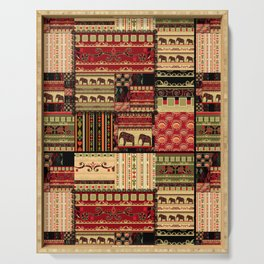 African patchwork. Serving Tray