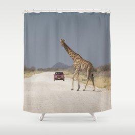 Giraffe 10 Shower Curtain