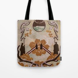 Cloud of Unknowing Tote Bag