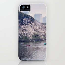 Japan: Cherry Blossom 5 iPhone Case