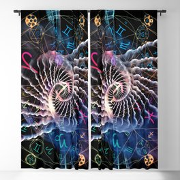 Astral Connection Blackout Curtain