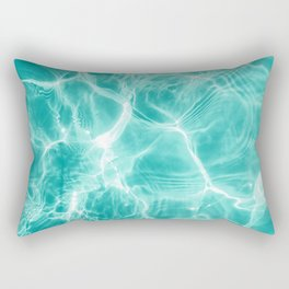 Pool Dream #1 #water #decor #art #society6 Rectangular Pillow