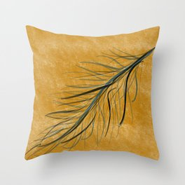 Fall feather Throw Pillow