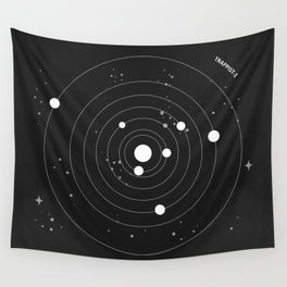 Trappist 1 Wall Tapestry