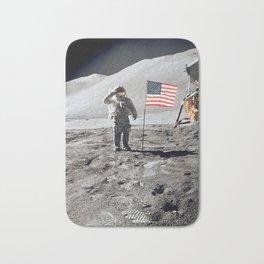 Apollo 15 - Military Salute Bath Mat