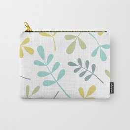 Assorted Leaf Silhouettes Color Mix Carry-All Pouch