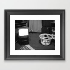 TV Rays Framed Art Print