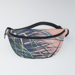 Feather Palm Fanny Pack