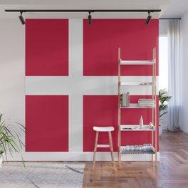 Flag of Denmark Wall Mural