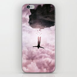 falling down iPhone Skin