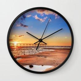 Saltburn Love Portrait Wall Clock