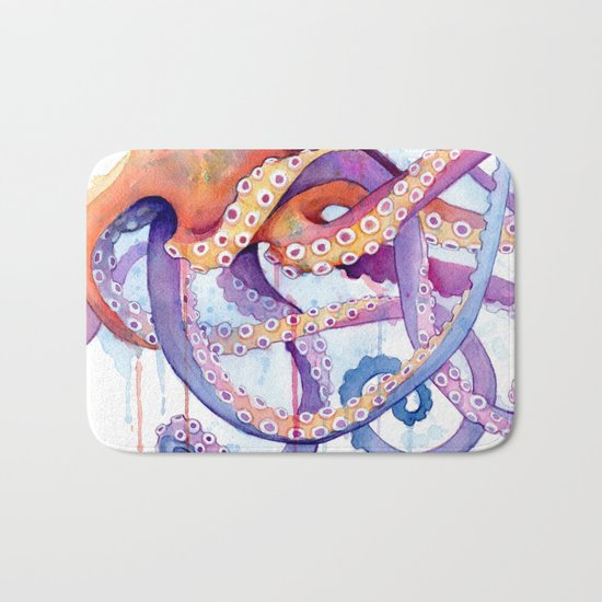 Octopus II Bath Mat