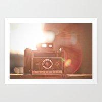 polaroid Art Prints featuring Polaroid by Tosha Lobsinger is my Photographer