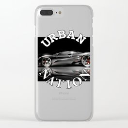 supercar - Concept by HS Design Clear iPhone Case