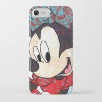 minnie mouse iPhone & iPod Cases featuring Minnie Mouse Fan Art by DanielleArt&Design